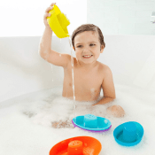 Amazon: Fleet Stacking Boats Bath Toys $5.62 (Reg. $9.99)