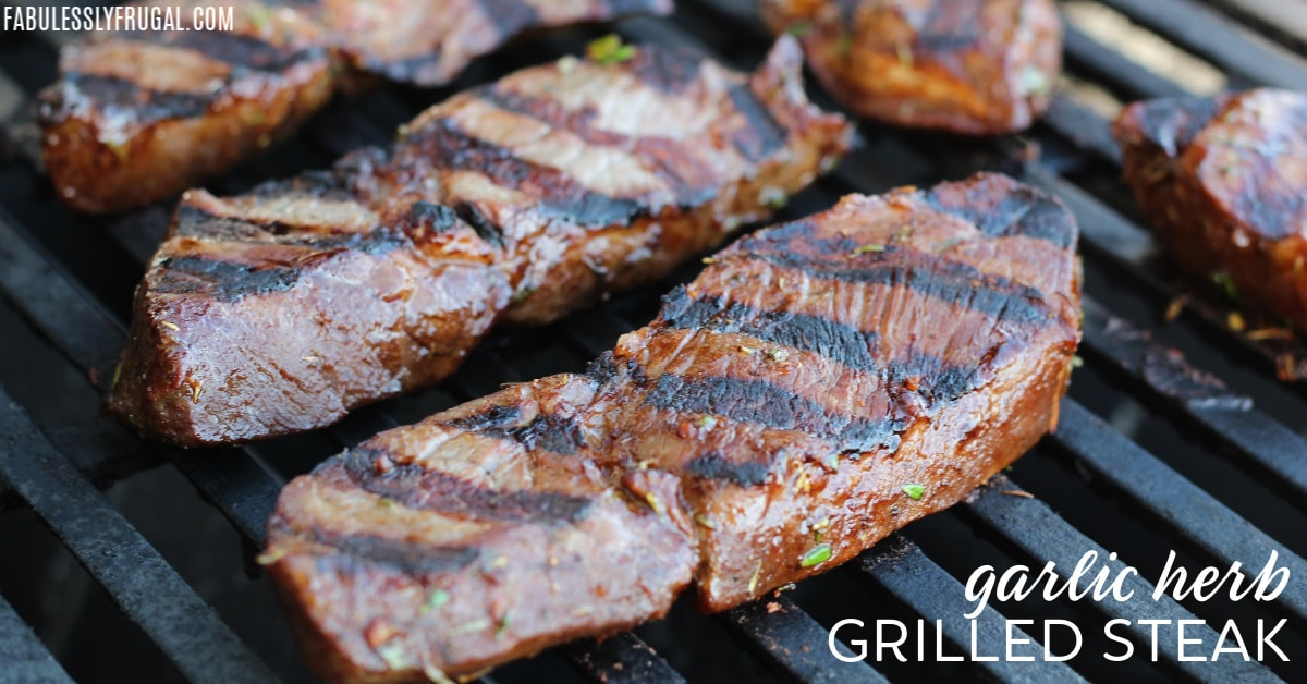 Grilled sirloin tips recipe