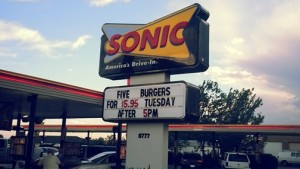 Sonic Drive In Coupons and Deals - Tuesday Deals