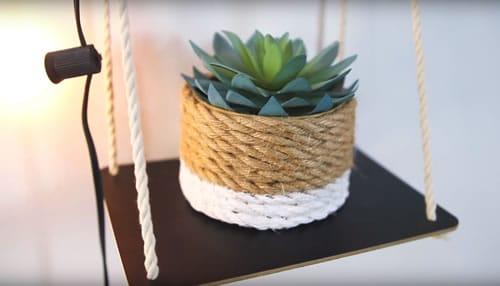 DIY dollar store planter