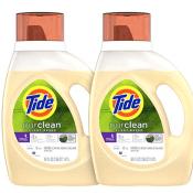 Amazon: Pack of 2 Tide Purclean Plant-Based Laundry Detergent Liquid, Honey...
