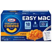 Amazon: 18 Kraft Easy Mac & Cheese Pouches as low as $4.18 (Reg. $10.99)...