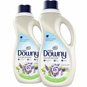 Amazon: 2 Count Downy Nature Blends Liquid Fabric Conditioner & Softener,...