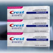 Amazon: 3 Tubes Crest 3D White Brilliance Vibrant Peppermint $10.99 (Reg....