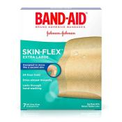 Amazo: 7-Count Band-Aid Skin-Flex Extra Large Bandages $3.24 (Reg. $5.49)