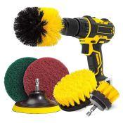Amazon: 6-Piece Drill Brush Attachment Set $12.91 (Reg. $16)