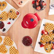 Amazon: Dash Mini Heart Shaped Waffle Maker $6.97 (Reg.$11.99)