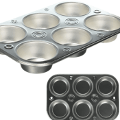 Amazon: EZ Baker Steel 6-Cup Muffin Pan $1.50 (Reg. $5.81)