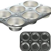 Amazon: EZ Baker Steel 6-Cup Muffin Pan $1.50 (Reg.$5.81)
