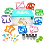 Amazon: Set of 29 Pieces Sandwich Cutters for Kids $12.27 (Reg. $17.97)