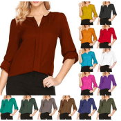 Amazon: Women's Chiffon Blouse $11.49 After Code (Reg. $22.98) + Free...