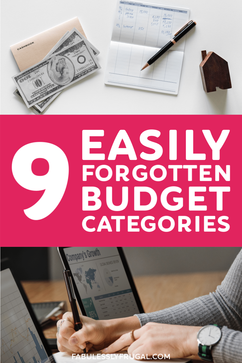 Commonly forgotten budget categories