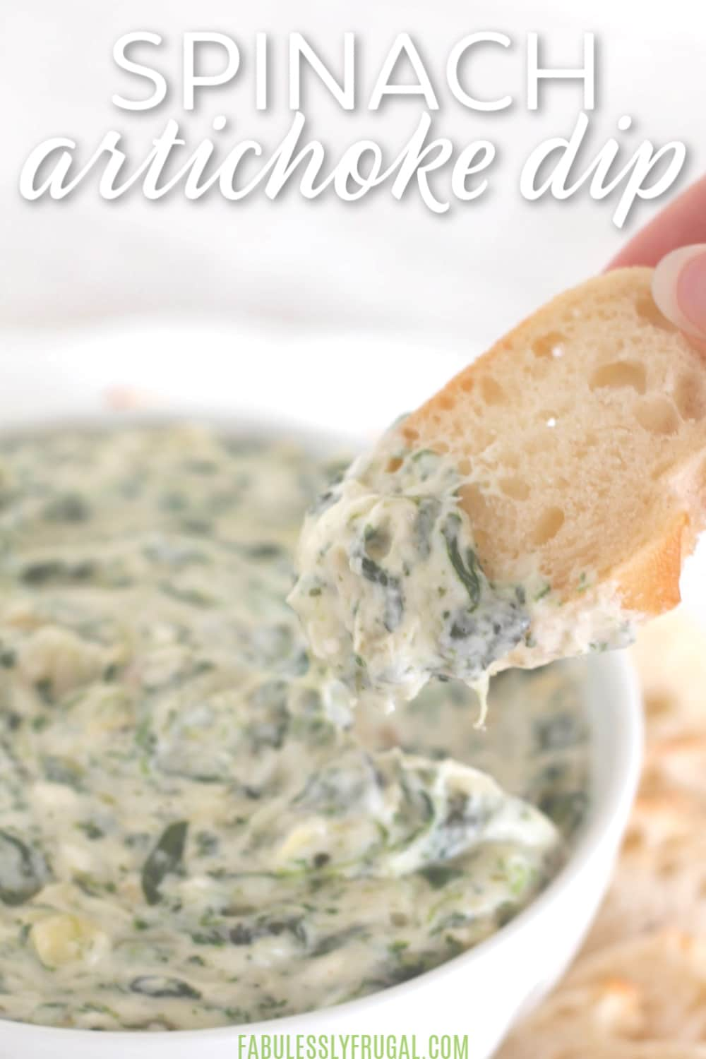 spinach dip with alfredo sauce