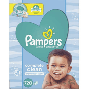 Amazon: 1440-Count Pampers Baby Wipes Complete Clean Scented 10X Pop-Top...