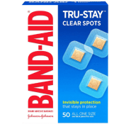 Amazon: Band-Aid Brand Tru-Stay Clear Spots Bandages as low as $1.93 (Reg....