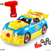 Amazon: 30 Piece Build Your Own Toy Car Constructions Set $19.99 (Reg....