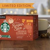 Amazon: 60-Count Starbucks Pumpkin Spice K-Cup Pods $24.98 (Reg. $57.12)