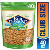 Amazon: Blue Diamond Raw Whole Natural Almonds (40-oz. bag) $10.43 (Reg....