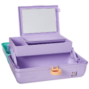 Amazon: Caboodles On-the-Go Girl Sea foam Lid and Lavender Base Vintage...