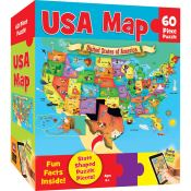Amazon: MasterPieces Explorer Kids 60 Piece USA Map Puzzle $3.20 (Reg....