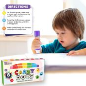 Amazon: Set of 8 Colors Crazy Dots Markers as low as $11.42 (Reg. $29.99)...