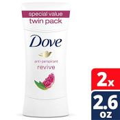 Amazon: 2-Pack Dove Advanced Care Antiperspirant Deodorant as low as $5.54...