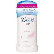 Amazon: Twin Pack Dove Antiperspirant Deodorant, Powder 2.6oz as low as...