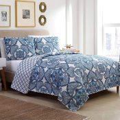 Amazon: 3 Piece Reversible Bedding Quilt Set, Full/Queen $12.99 (Reg.$25.54)