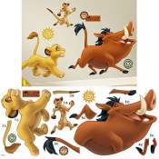 Amazon: The Lion King Peel and Stick Giant Wall Decals $12.99 (Reg. $17.99)