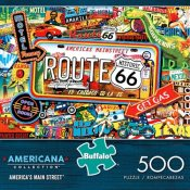 Amazon: 500 Piece Americana Collection Route 66 Puzzle $4.13 (Reg. $10.99)