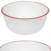 Amazon: 28-Ounce Corelle Red Band Bowl $4.97 (Reg. $21)