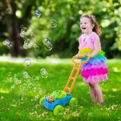 Amazon: Kids Bubble Blower Lawn Mower $21.99 (Reg. $39.99)