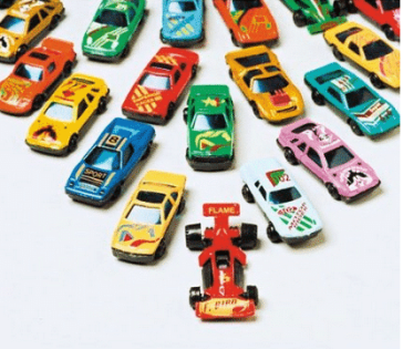 Free wheel cars Valentines day gift ideas