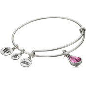 Amazon: Birth Month Charm Bangle Bracelet $14 (Reg. $32)
