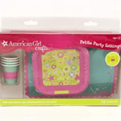Amazon: American Girl Crafts Doll Size Plates Cups And Placemats $4.80...