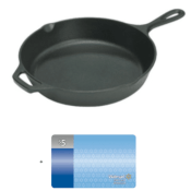 Walmart: Lodge Pre-Seasoned 10.25 Inch Cast Iron Skillet + $5 Walmart Gift...