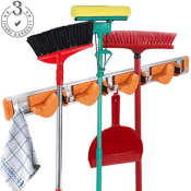 Amazon: Mop And Broom Storage Holder $5.80 (Reg. $12.99)