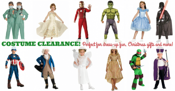 costume clearance 2015