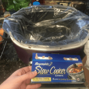 Amazon: Reynolds Slow Cooker Liners 4-Pack $1.73 (Reg. $6.36)