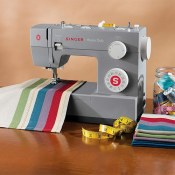 Amazon: Singer Heaving Duty Sewing Machine with 32 Built-in Stitches $134.09...