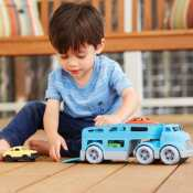 Amazon: Green Toys Car Carrier Vehicle Set Toy in Blue $14.99 (Reg. $24.99)