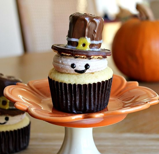 Pilgrim Cupcakes