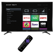 Best Buy Holiday Deal! Sharp 50″ LED Roku TV $199.99 (Reg. $399.99) +...