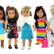 Amazon: 28-Piece Set of Doll Clothes + Accessories for 18-inch Dolls $29.95...