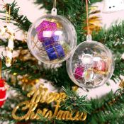 20 Clear Ornaments Perfect for Filling and Gifting Only $6.50!