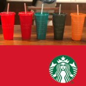 Starbucks: Holiday Cold-Cups AND Hot-Cups 5-Packs Are Available Now