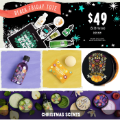 The Body Shop Bath Black Friday: Bombs $1 Shipped + Black Friday Tote $49...