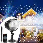 Amazon: Christmas Snowfall Projector Light $19.99 After code (Reg. $28.99)