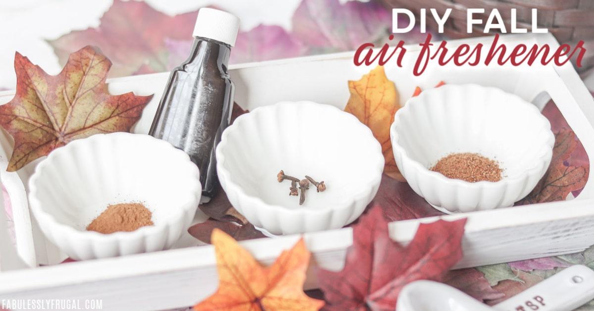 DIY fall air freshener