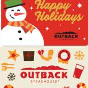 Outback Steakhouse: Free $10 Bonus Gift Card with $50 Gift Card Purchases